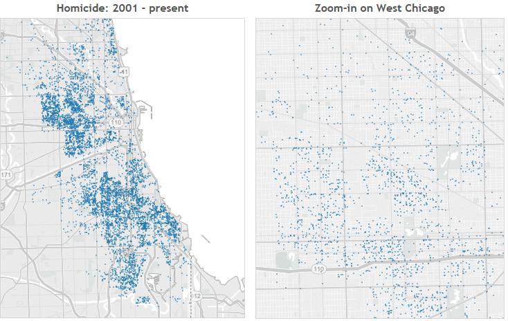13 data narratives on crime in Chicago Joe Leider